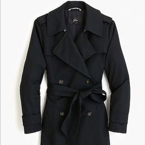 Side-button Trench coat